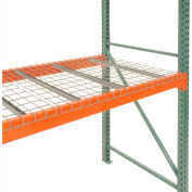 "Global Industrial™ Pallet Rack Wire Decking, 52""W x 48""D (2500 lbs cap) Gray"