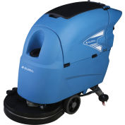 """Global Industrial™ Auto Floor Scrubber 20"""" Cleaning Path, Traction Drive, Two 115 Amp Batteries"""