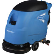 """Global Industrial™ Electric Walk-Behind Auto Floor Scrubber 18"""" Cleaning Path - Corded"""