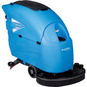 """Global Industrial™ Auto Floor Scrubber 26"""" Cleaning Path, Traction Drive, Two 115 Amp Batteries"""
