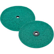 Global Industrial™ Replacement Scrubbing Pads for Mini Floor Scrubber, 2 Pack