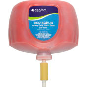 Global Industrial™ Red Scrub Heavy Duty Hand Cleaner, Cherry Scent, 2L Refill - 4/Case