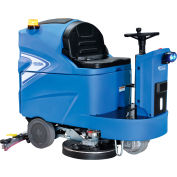 """Global Industrial™ Ride-On Floor Scrubber, 40"""" Cleaning Path"""