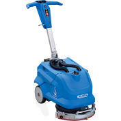 """Global Industrial™ Battery Auto Floor Scrubber With Two 36 Amp Batteries, 13"""" Cleaning Path"""