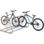 Global Industrial™ Grid Bike Rack, 10-Bike, Double Sided, Powder Coated Steel