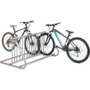 Global Industrial™ Grid Bike Rack, 10-Bike, Double Sided, Powder Coated Steel