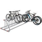 Global Industrial™ Grid Bike Rack, 18-Bike, Double Sided, Powder Coated Steel