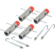 Global Industrial™ Anchor Cement Kit 4 Ancres par kit