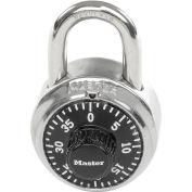 Master Lock® no. 1525 1525 générale sécurité Combo cadenas, contrôle clé, cadran noir