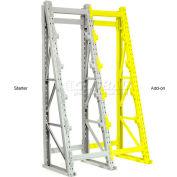 "Global Industrial™ Reel Rack Add-On Unit 36""W x 36""D x 120""H"