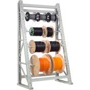 "Global Industrial™ Reel Rack Starter Unit 48""W x 24""D x 120""H"