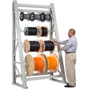 "Global Industrial™ Reel Rack Starter Unit 48""W x 36""D x 120""H"