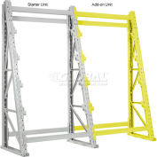 "Global Industrial™ Reel Rack Add-On Unit 48""W x 36""D x 96""H"