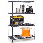 """Nexelon® DS24246N - Heavy Duty Wire Shelving 24""""W x 24""""D x 63""""H"""
