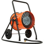 Global Industrial® 10 KW Portable Electric Salamander Heater 240V, 1 Phase With 8'L Power Cord