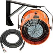Global Industriel® Chauffage électrique à salamandre, thermostat réglable, 240V, 1 phases, 15000 Watt
