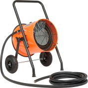 Global Industrial® 15 KW Portable Electric Salamander Heater 240V, 1 Phase With 25'L Power Cord