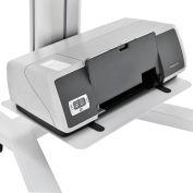 Printer Shelf For Global Industrial™ Mobile Height Adjustable Laptop Workstations