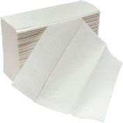Global Industrial™ Multifold Paper Towels, White - 250 Sheets/Pack, 16 Packs/Case