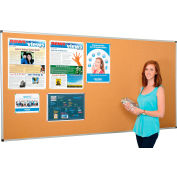 Large Cork Bulletin Board - 96 x 48 - Aluminum Frame