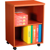 "Interion® 20"" Under Desk Storage Cabinet - Cherry"