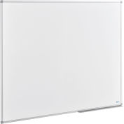 Global Industrial™ Melamine Dry Erase Whiteboard - 60 x 48 - Double Sided