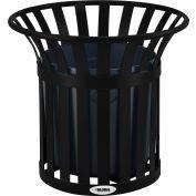 Global Industrial™ Steel Slat Planter - Black