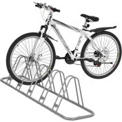 Global Industrial™ Single-Sided Adjustable Bicycle Parking Rack, 5-Bike Capacity