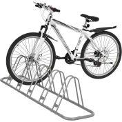 Global Industrial™ support de stationnement réglable à un côté, capacité de 5 vélos