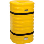 "Global Industrial™ Yellow Column Protectors, 8"" Column Opening"