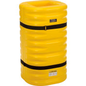 "Global Industrial™ Yellow Column Protectors, 12"" Column Opening"