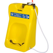 Global Industrial™ Gravity Fed Portable Eyewash Station, 20 Gallon