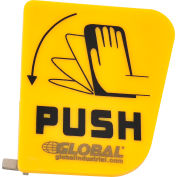 Emergency Eyewash Plastic Push Handle, Replacement