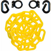 Mr. Chain 72302 Loading Dock Kit with Plastic Chain, Black/Yellow
