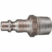 """Milton 733 M Style industriel bouchon 3/8"""" MNPT 10 Pack"""