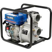 "Global Industrial® GP80 Portable Gasoline Water Pump 3"" Intake/Outlet 7HP"