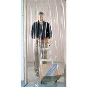 Global Industrial™ Pedestrian Strip Door Curtain 3'W x 8'H