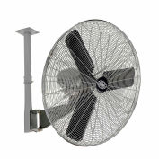 Global Industrial™ 24» Industrial Oscillating Ceiling Mounted Fan, 7525 CFM, 1/4 HP