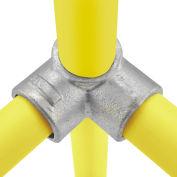 Raccord pour tuyau Global, deux douilles en T à90 degrés, diam. de 1-1/2 po