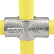 "Global Industrial™ Pipe Fitting - Two Socket Cross 1-1/4"" Dia."