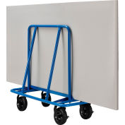 "Global Industrial™ Sheet Rock Drywall Cart 8"" No Flat Wheels 2400 Lb. Capacité"