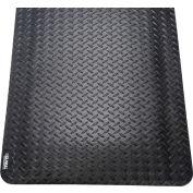 "Diamond Plate Ergonomic Mat 15/16"" Thick 36""x60"" Black"