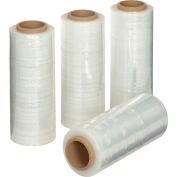 Pellicule étirable,13 po x1500 pi - Grade 65, transparent, pour distributeur à mains, qté par paquet : 4