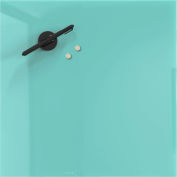 Mosaic Magnetic Glass Markerboard - Aqua - 16X16 in.