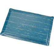 Marbleized Top Ergonomic Mat 3x60 Foot Blue