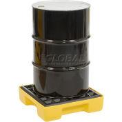 Plateforme modulaire de rétention Eagle 1633 pour 1 baril, jaune, sans drain