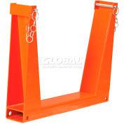 "Global Industrial™ Safety U-Rack 25""W x 4""D x 20""H 10,000 lb. Capacity"