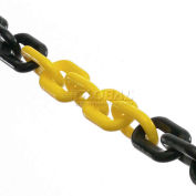 Global Industrial™ 50'L Plastic Chain Yellow/Black For Traffic Control