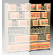 Imperial Shelving Add-On 36x30x76 - 6 Openings Sand