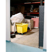 Global Industrial™ Single Folding Security Gate 6-1/2'W x 8'H